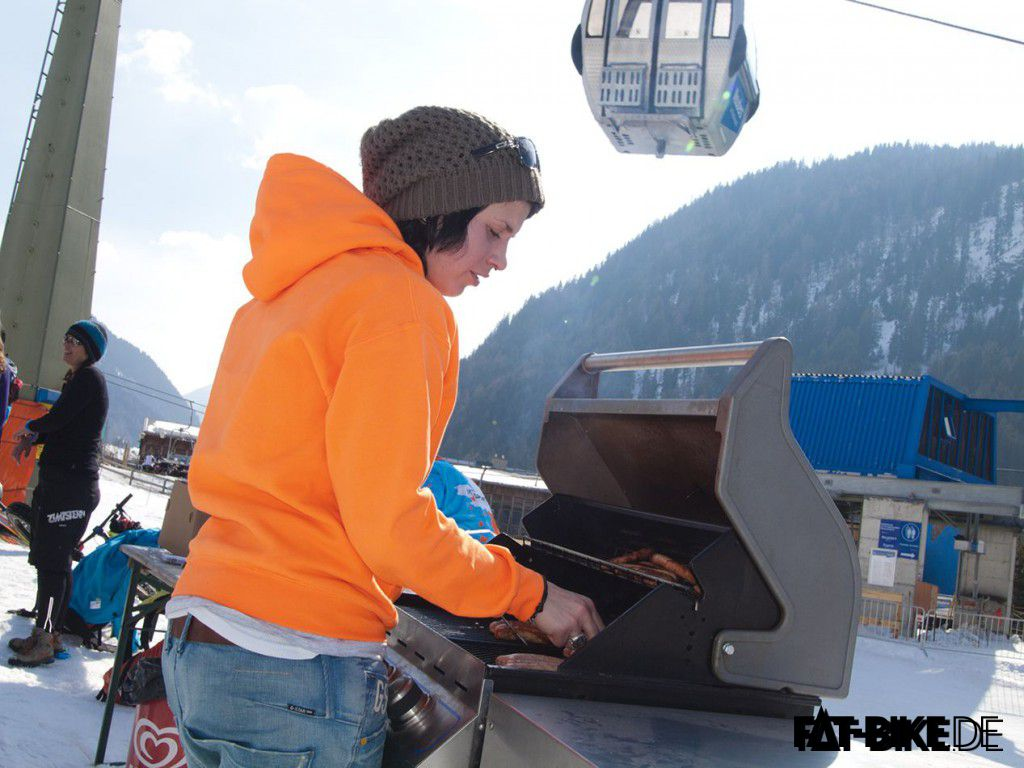 Grill'n'Chill. (Quelle: Frank Z./Fatbikecamp.com