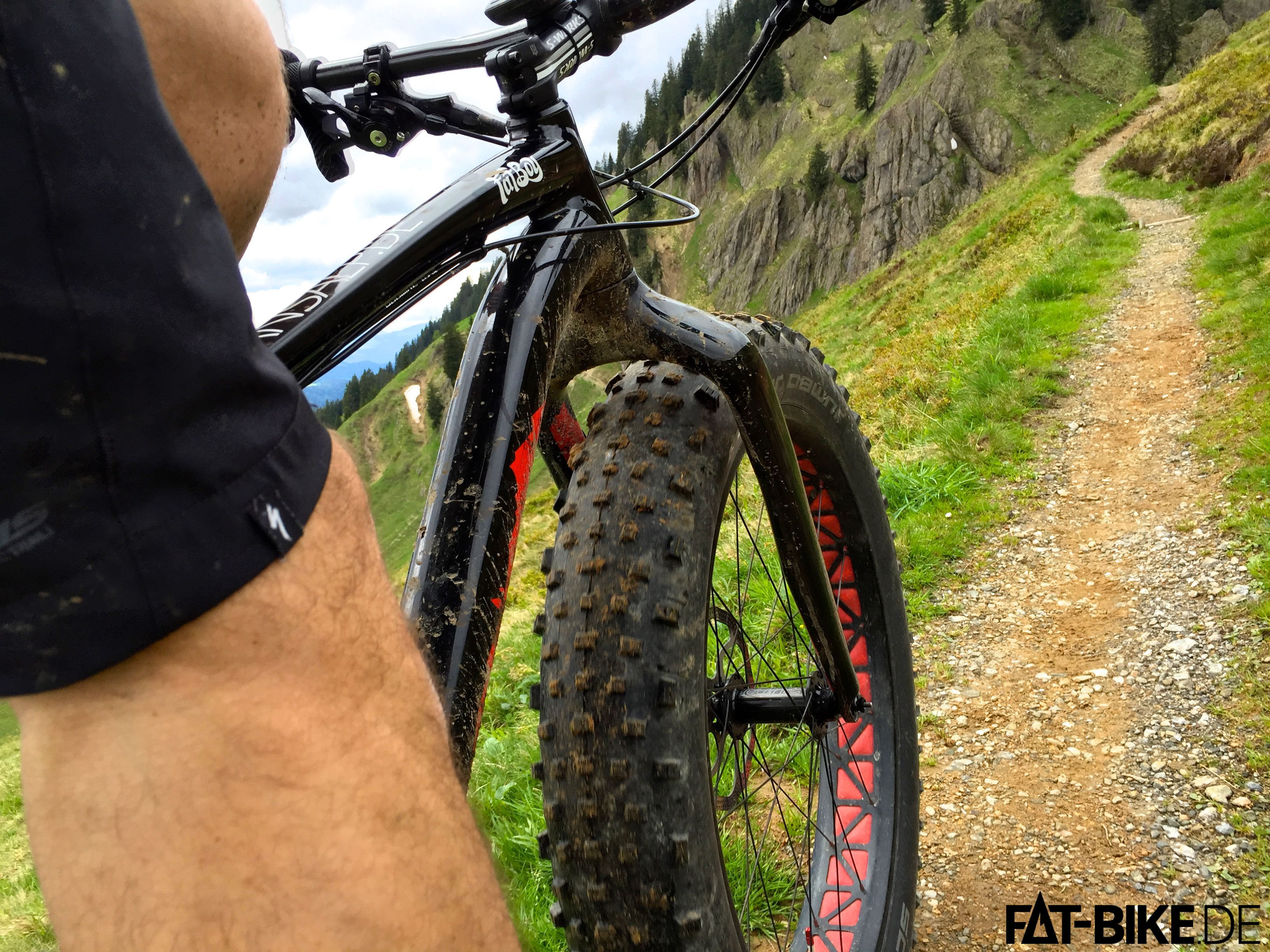FATBiken im Allgäu: Uphill zum Siplingerkopf