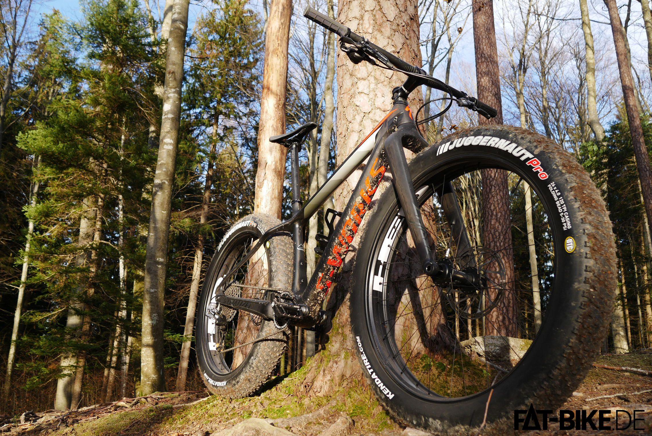 The Kenda Juggernaut 4.0 Pro is the lightest FATBike tire