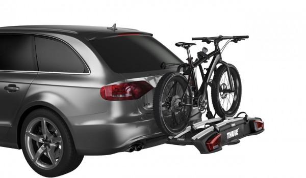fatbike fahrradtr ger von thule f r die anh ngerkupplung. Black Bedroom Furniture Sets. Home Design Ideas