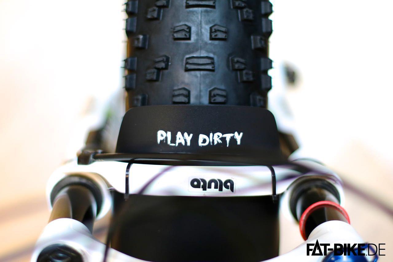 Play dirty, mit FATBike Schutzblech von 77designz