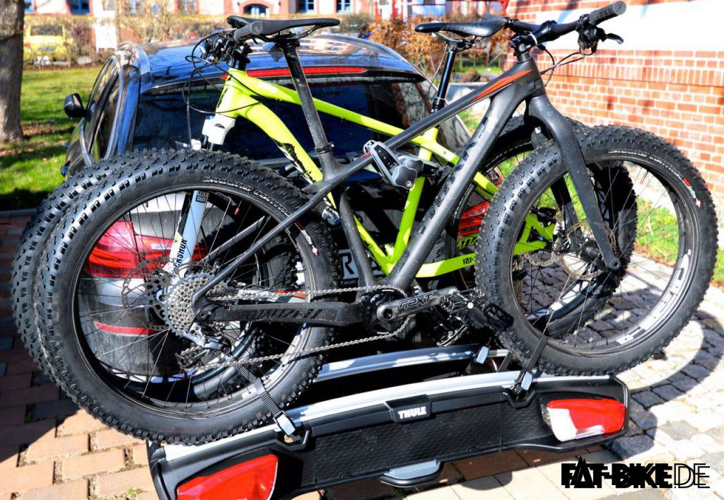 thule velospace 917 tr ger f r fatbikes. Black Bedroom Furniture Sets. Home Design Ideas