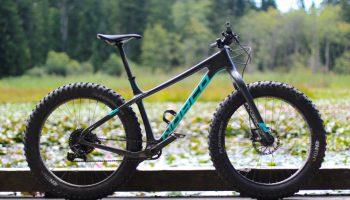 Norco Carbon FATBike Ithaqua am Beaverlake