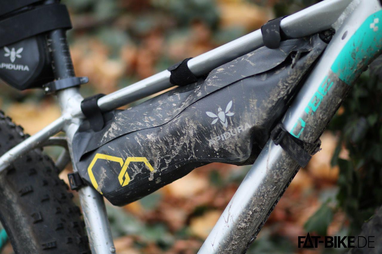 Die mittlere Größe, Apidura Bikepacking Frame Pack Dry mit 4,5L