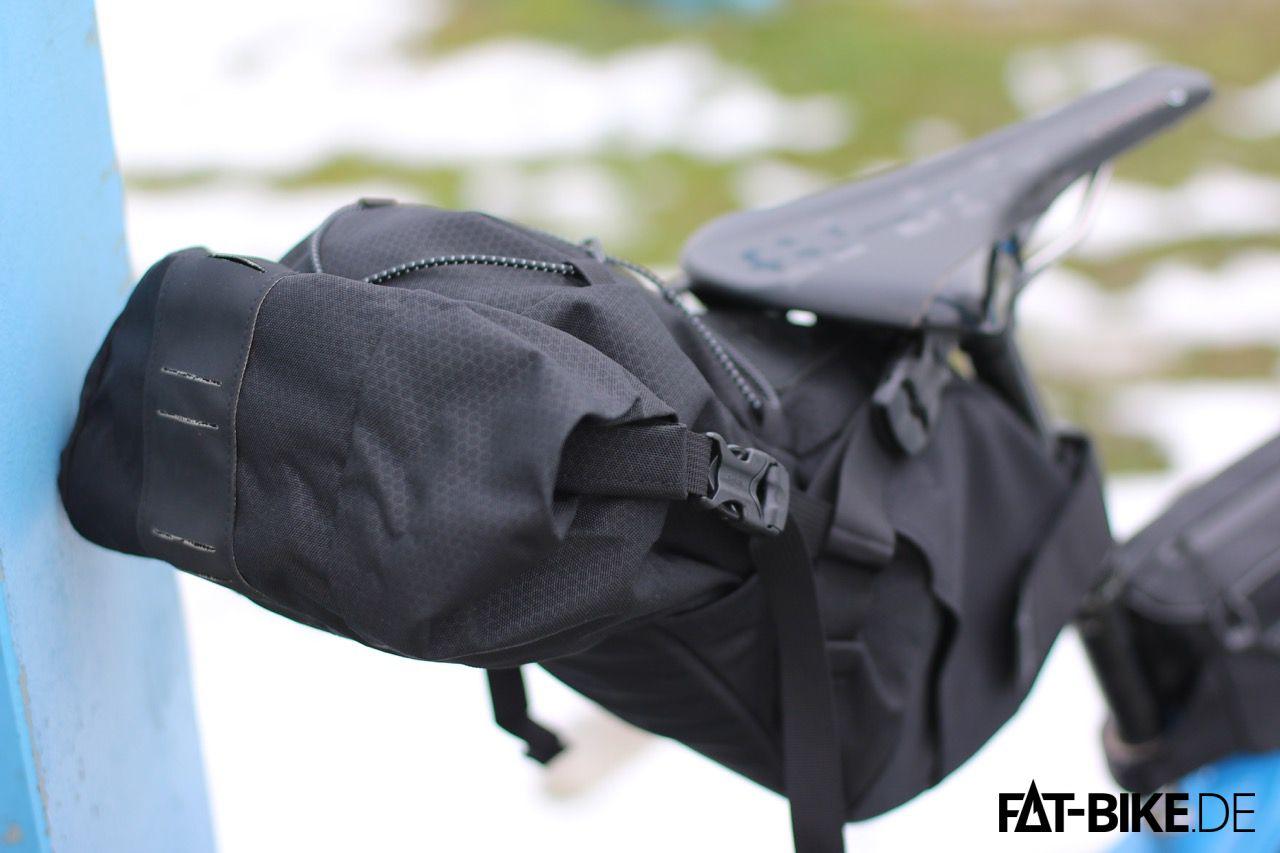 Bis zu sagenhaften 15L finden Platz im Topeak Bikepacking Backloader