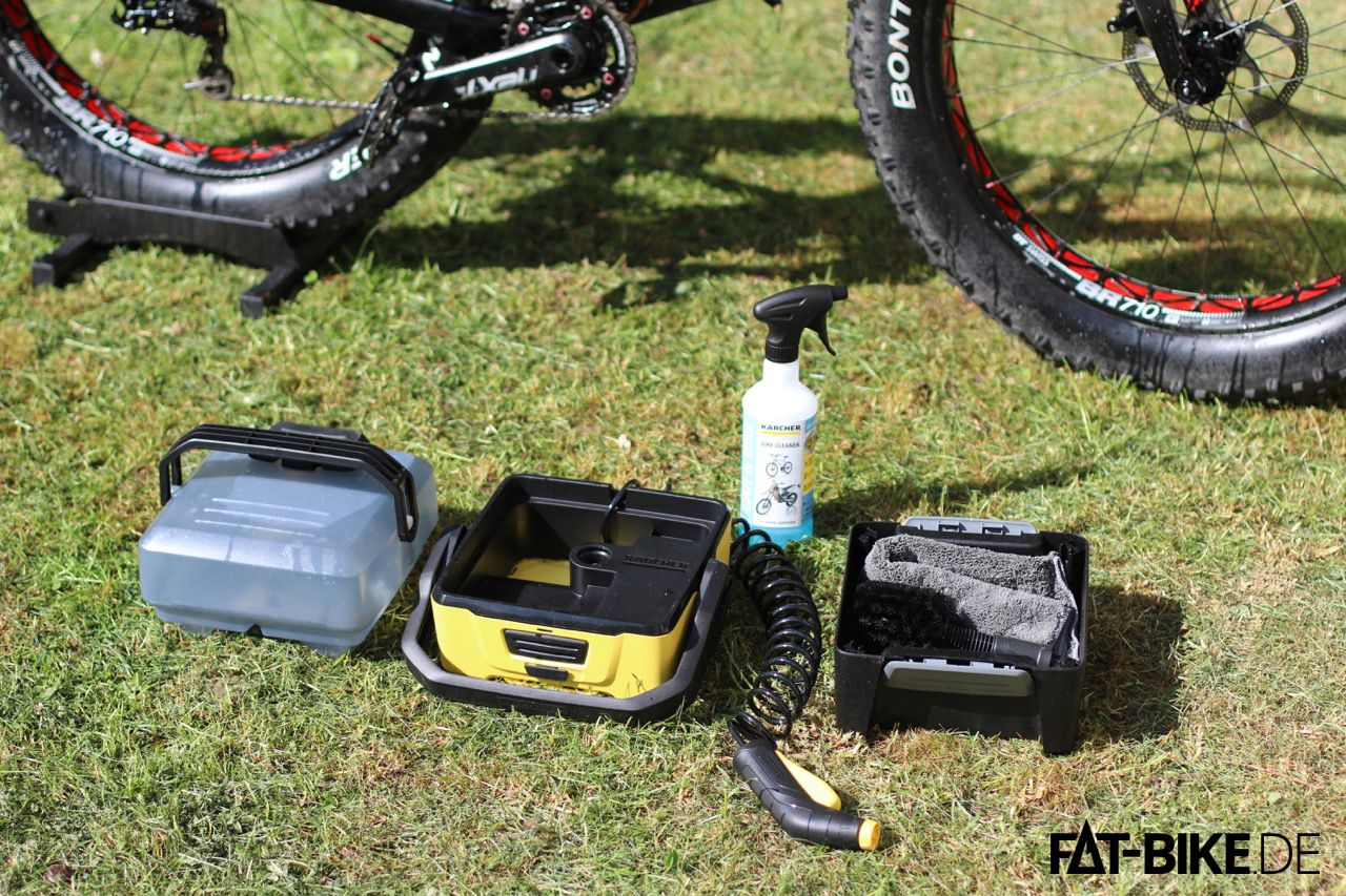 Kärcher Outdoor Cleaner 3 im Set mit Bike-Box