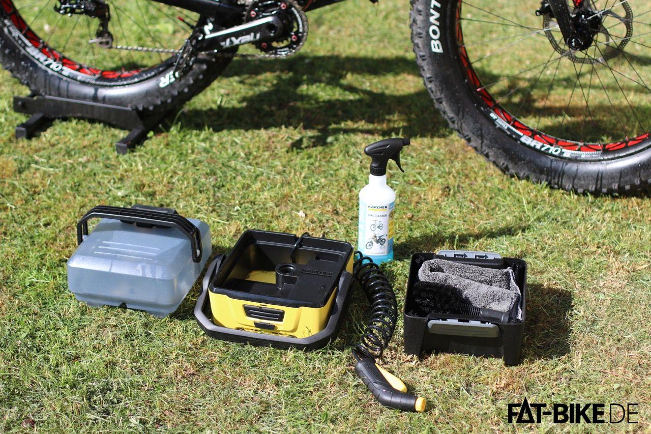 Kärcher Outdoor Cleaner 3 im Set mit Bike-Box