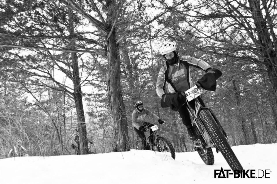 FATBike Rennen Frozen Forty