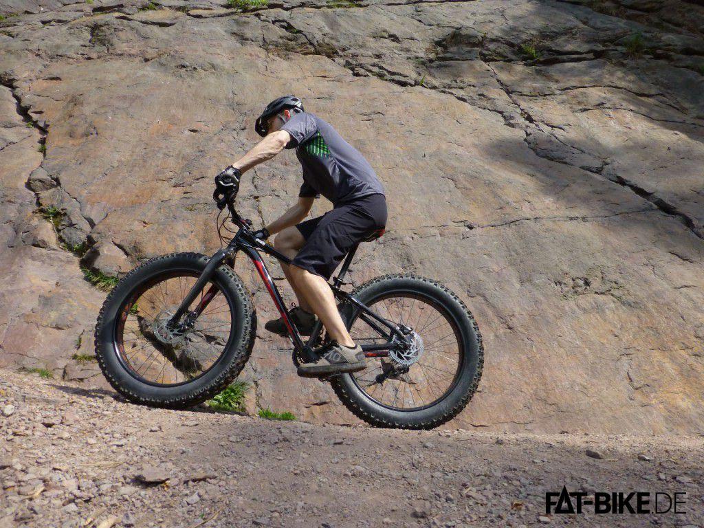 Steigfähigkeit beim FATBike Specialized FatBoy