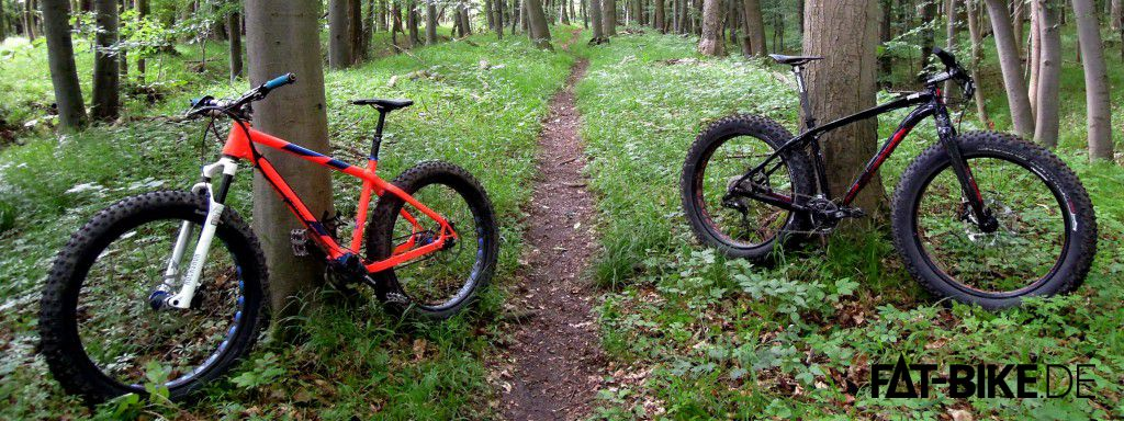 Nicolai Argon FAT Pinion und Specialized FatBoy Expert