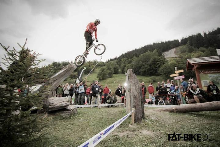 """Trial mit einem 20"""" Trialbike (Quelle: Rick Koekoek)"""