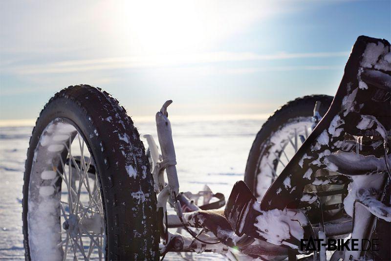 FATBike Trike in der Polarsonne