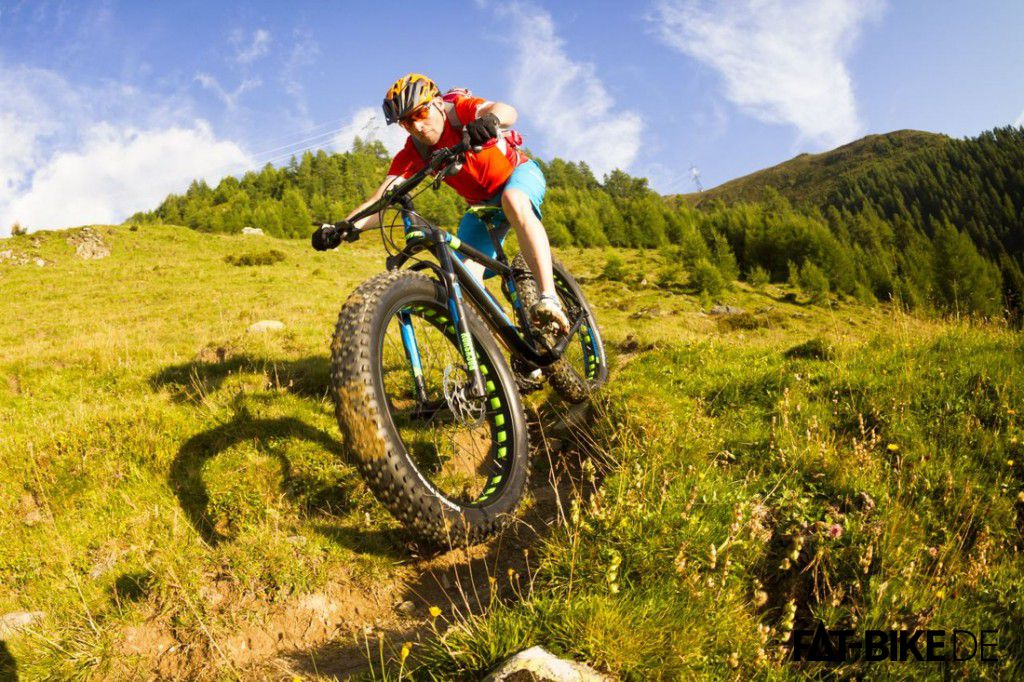 FATBike Tests beim Bike Magazin, hier das Scott Big Ed