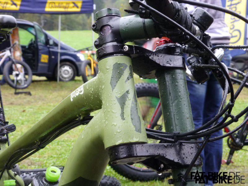 Einseitig vielseitig. Unser Erstkontakt mit Uli's Bike bei Fatbike Jam.