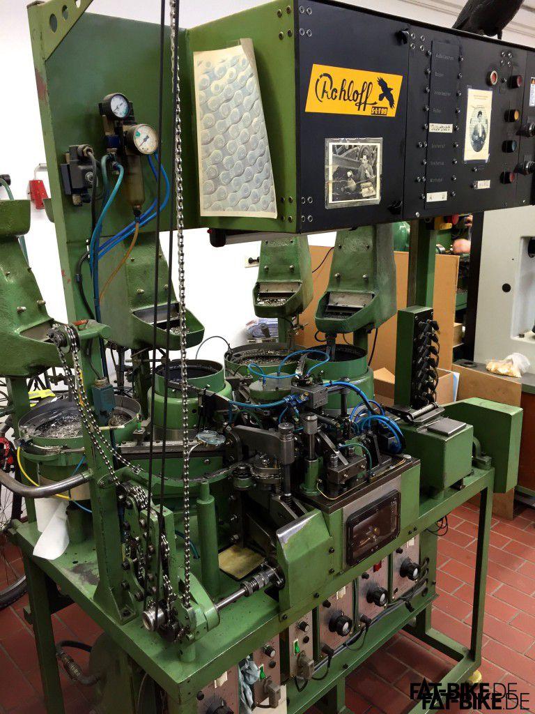 Das grüne Monster, Kettenmaschine von Rohloff