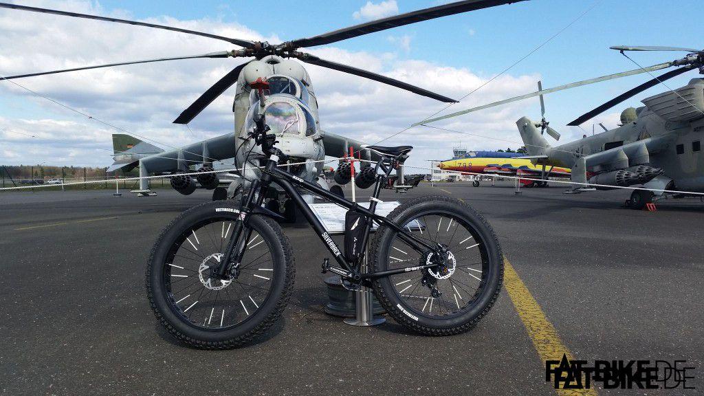 Nochmal aus einer anderen Perspektive - wir mögen den Hubschrauber! Und natürlich das Single Scoop! (Quelle: Mühle)