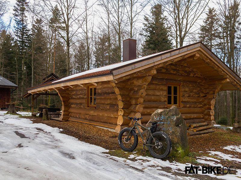 Da steht mächtig Holz vor der Hütte: Carlos SE Bikes F@R! (Quelle: Carlo A.)