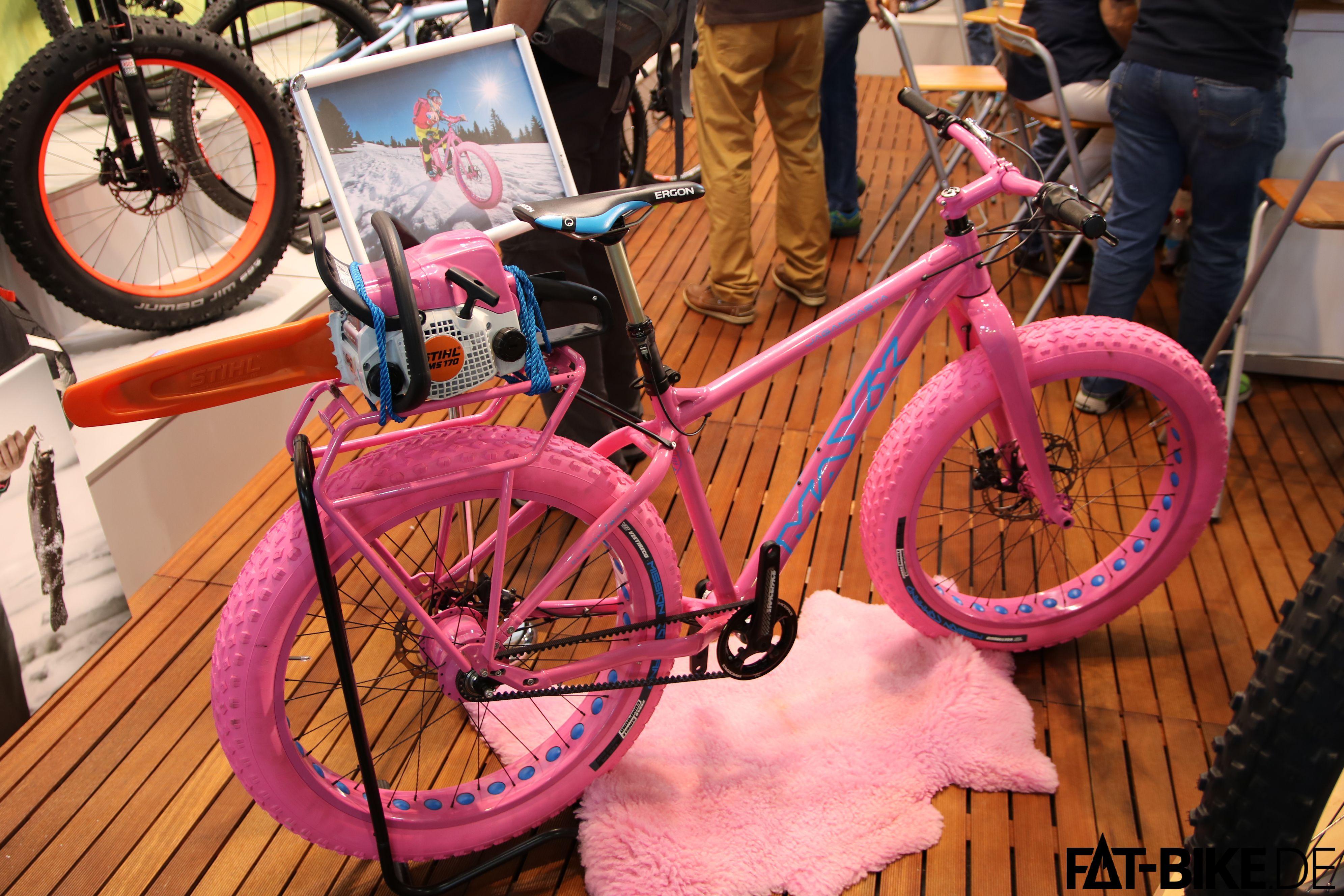Custom-FATBike von MAXX in Pink
