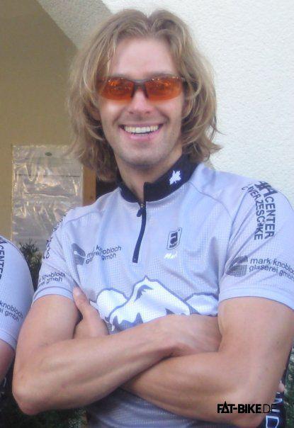 Mark im FATBike Enduro Team