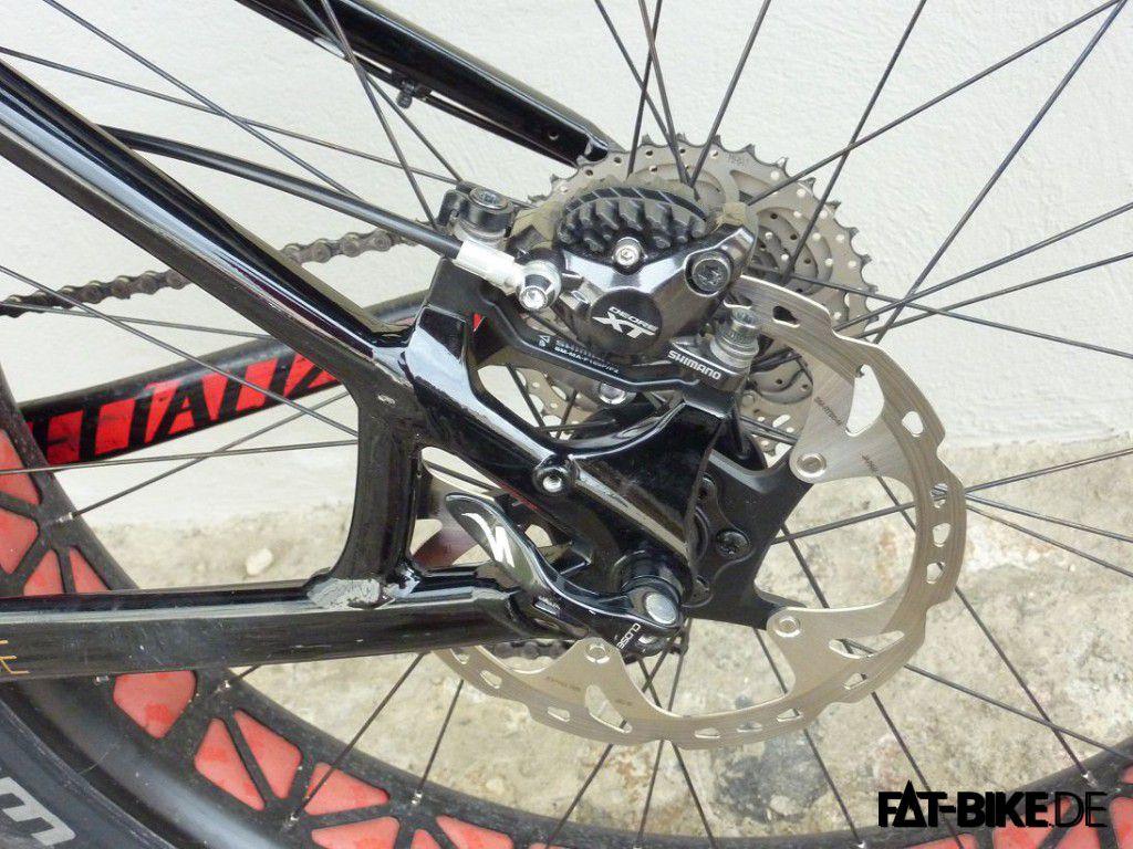 Korrektes Material: XT Bremsen an Geissi's FatBoy
