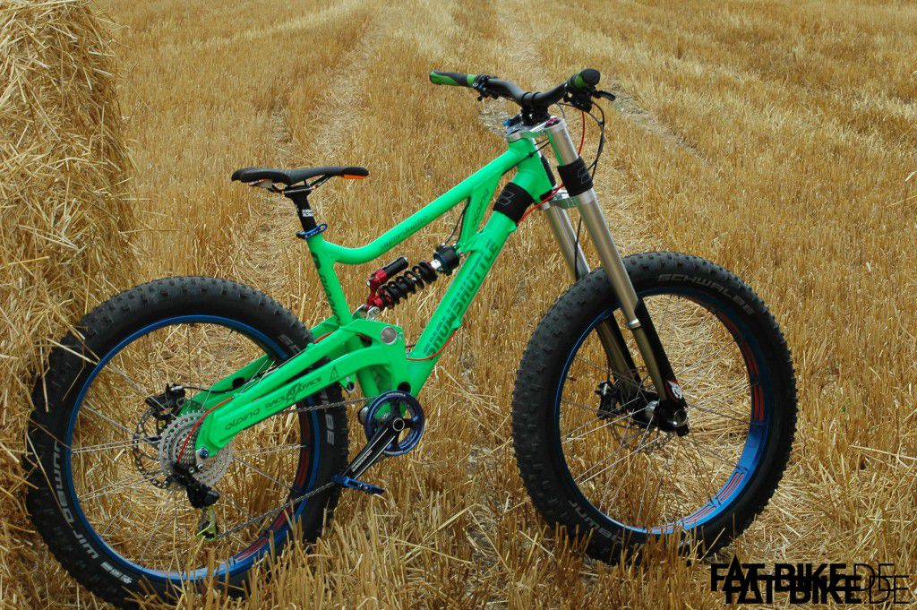 Fulls Suspension FATBike  Snowshuttle  5