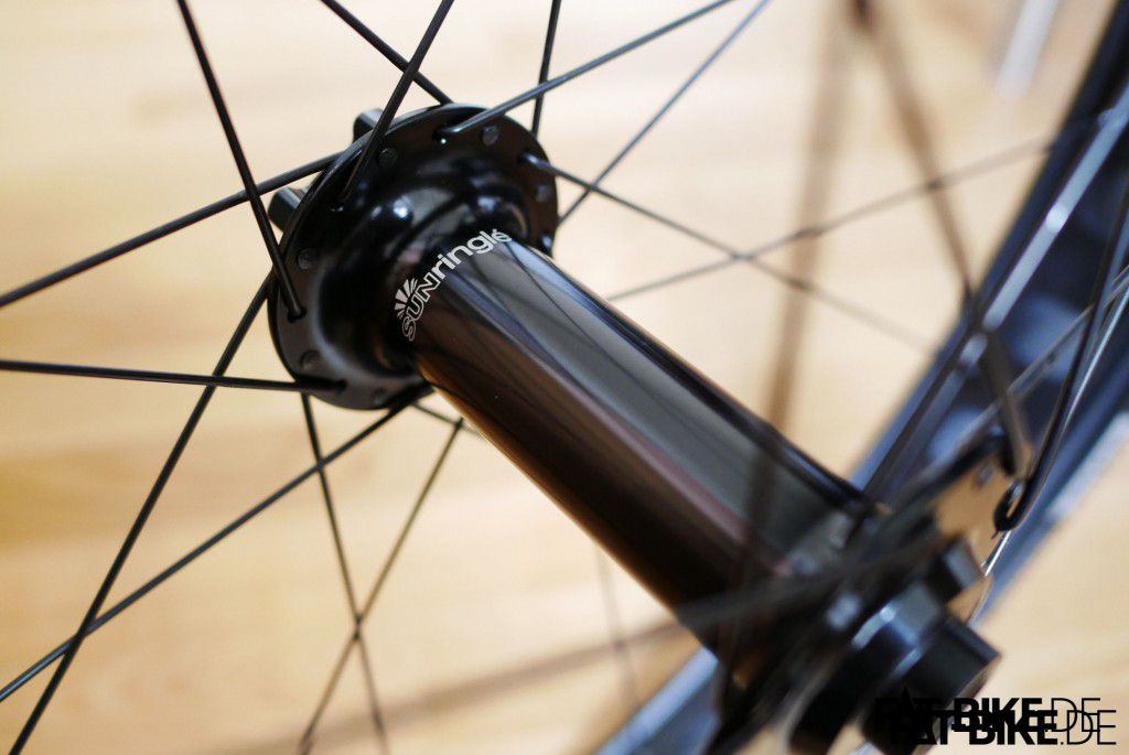 Nice one: the front hub