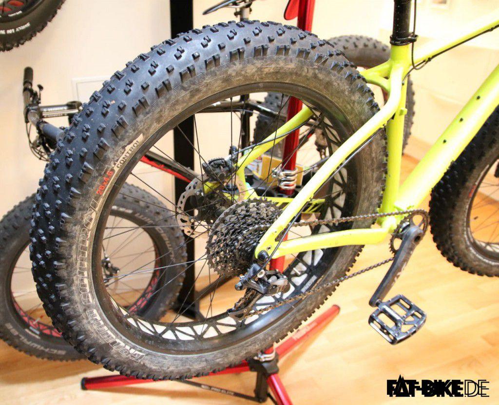 Nach dem Rohloff Umbau sieht das Bike so nicht mehr aus