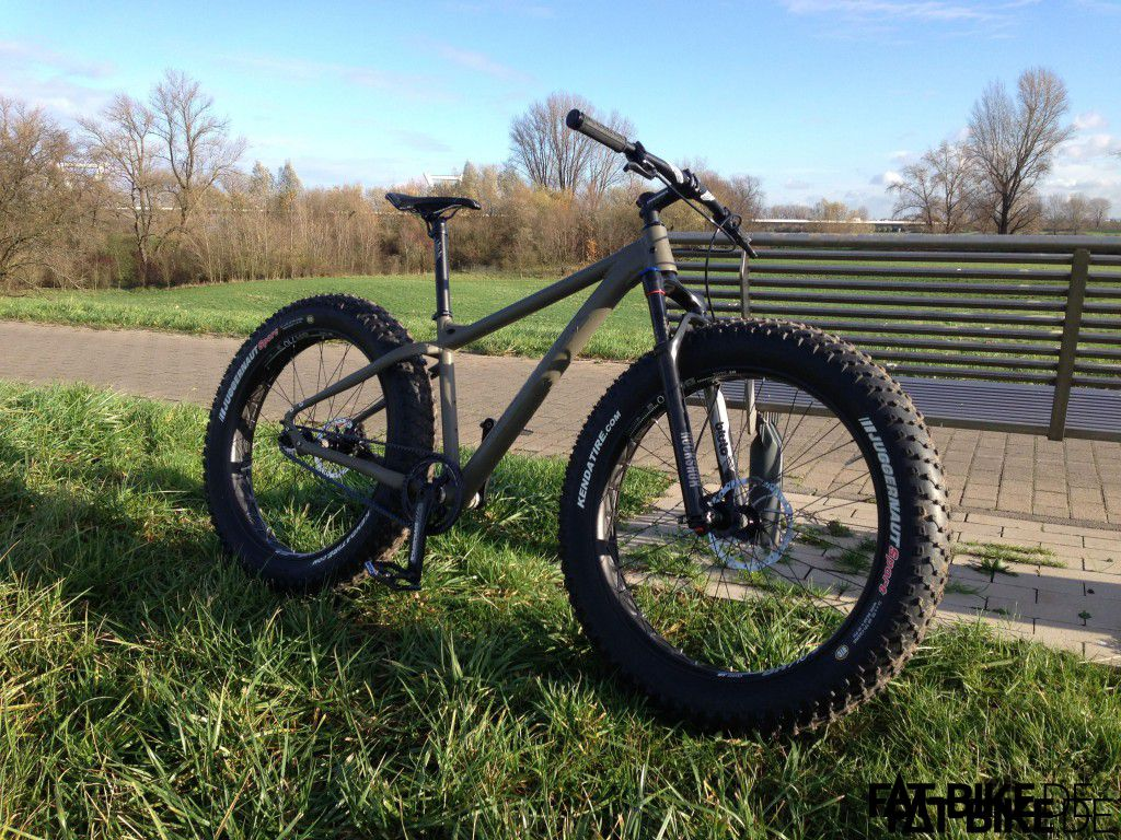 Selbe Location, anderes Bike: der Maxx Jagamoasta