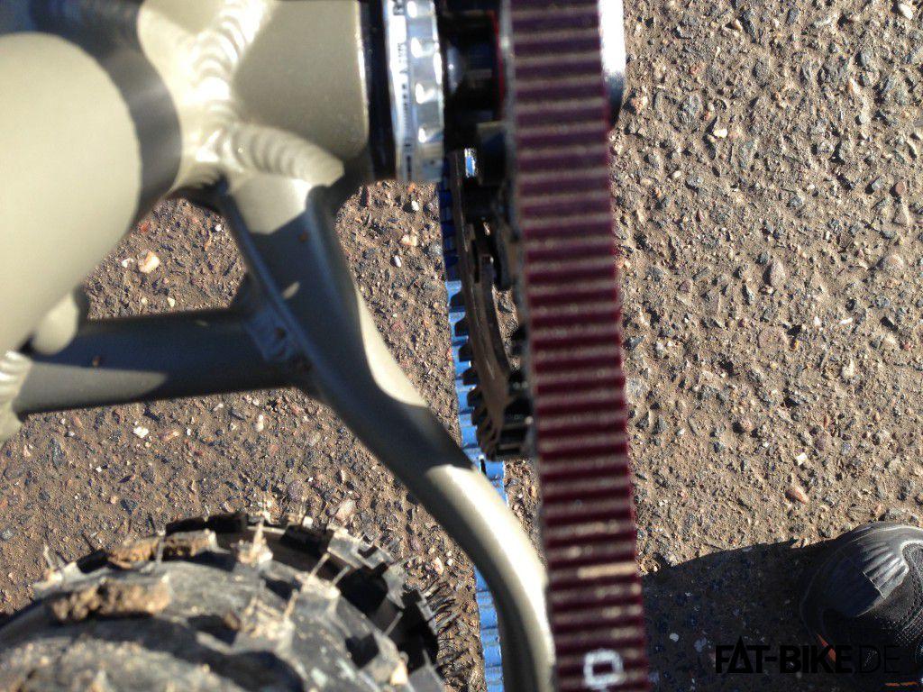 Maxx Jagamoasta Rahmen-Riemenrad Spalt