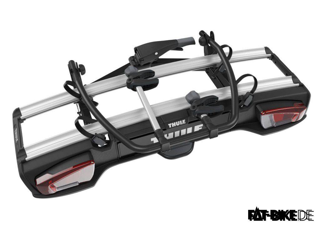 Kompakt verstaubar, der Thule VeloSpace 917 FATBike Fahrradträger