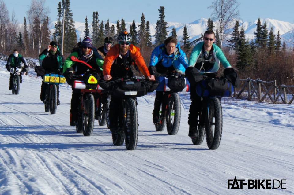 Start beim Iditarod Trail Invitational