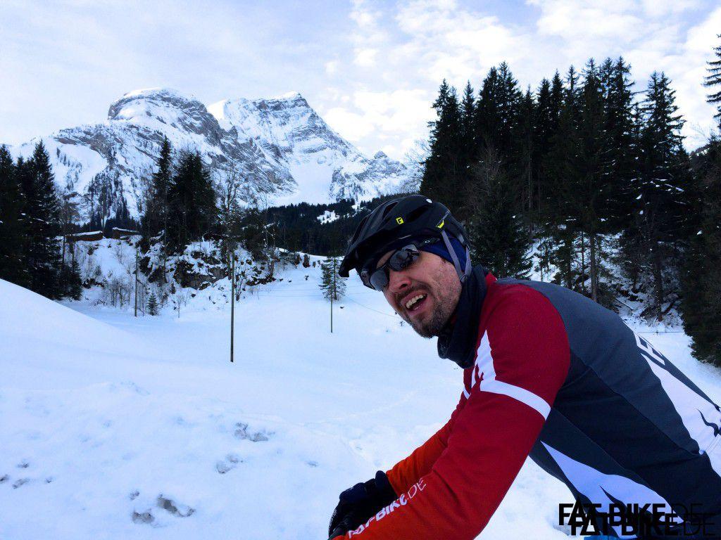 Traumhafte Bergpanoramen bei der dritten Etappe