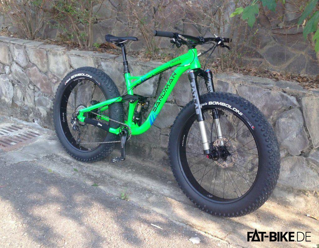 Komplettbike mit FatLab Upside Down Gabel (Quelle: Sandman Bikes)