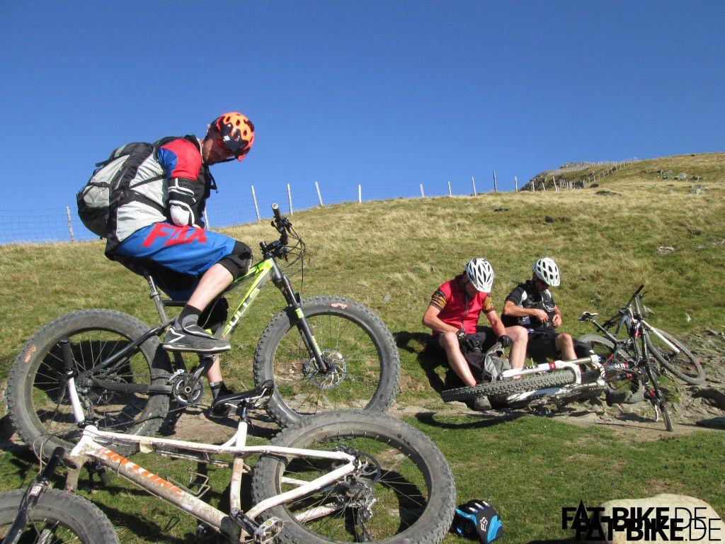 (05) Bulls Monster Rabger Trail Downhill Mt.Snowdon, Wales