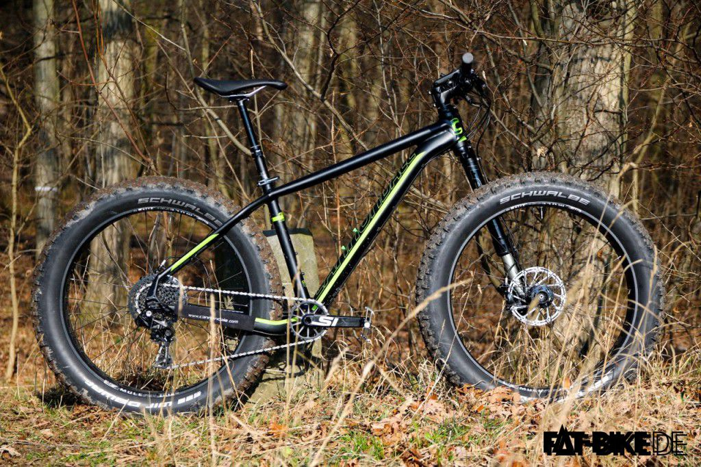 Cannondale FAT CAAD 1 mit Lefty Olaf Federgabel