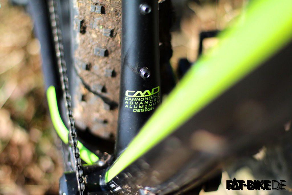 Cannondale Advanced Aluminium Design am FAT CAAD 1