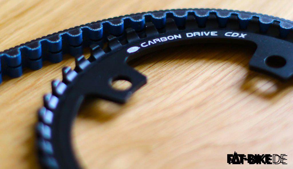 Riemen und Scheibe von Carbon Gates Drive