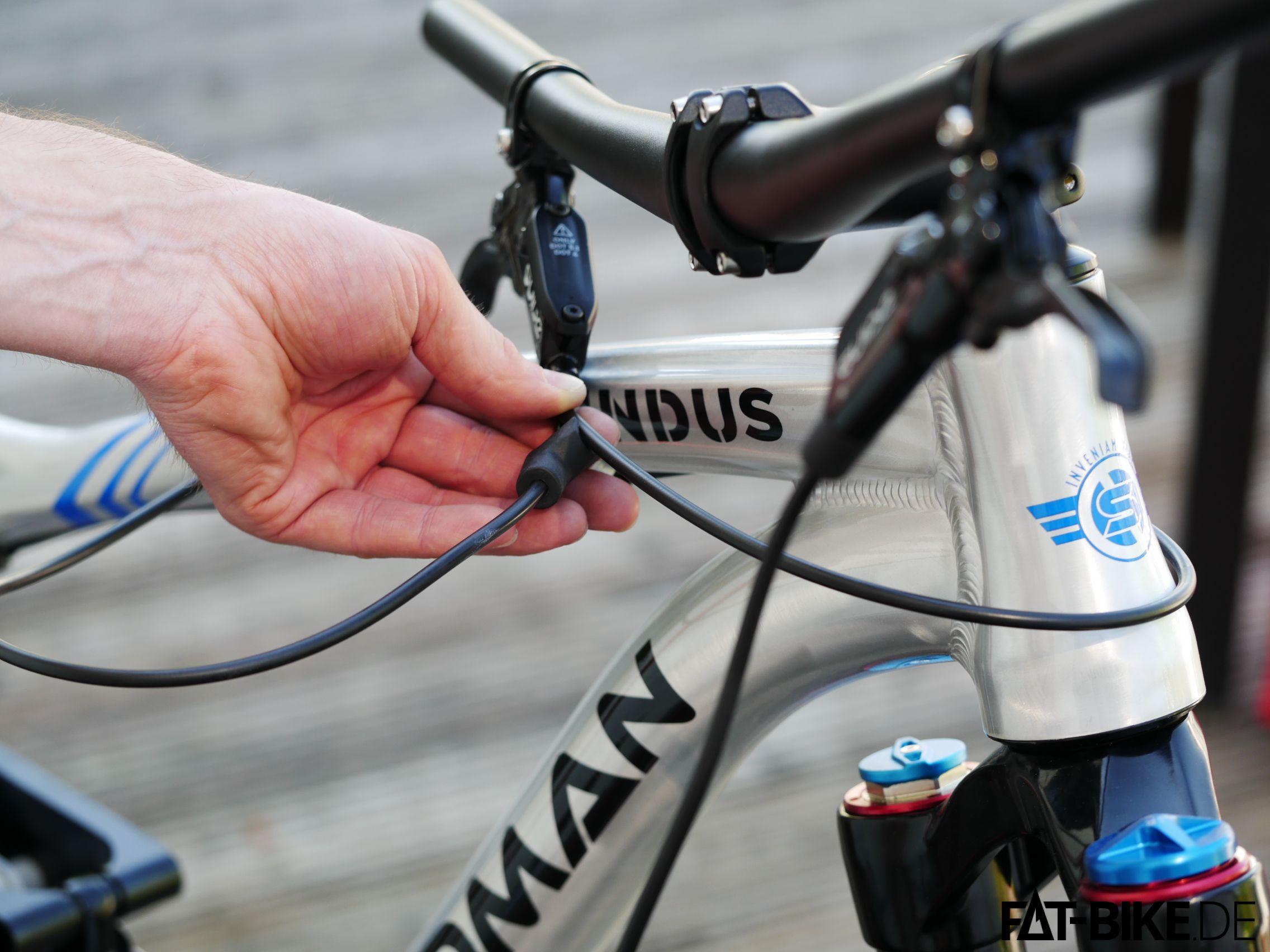13 Sram Guide Bremsleitung abmessen