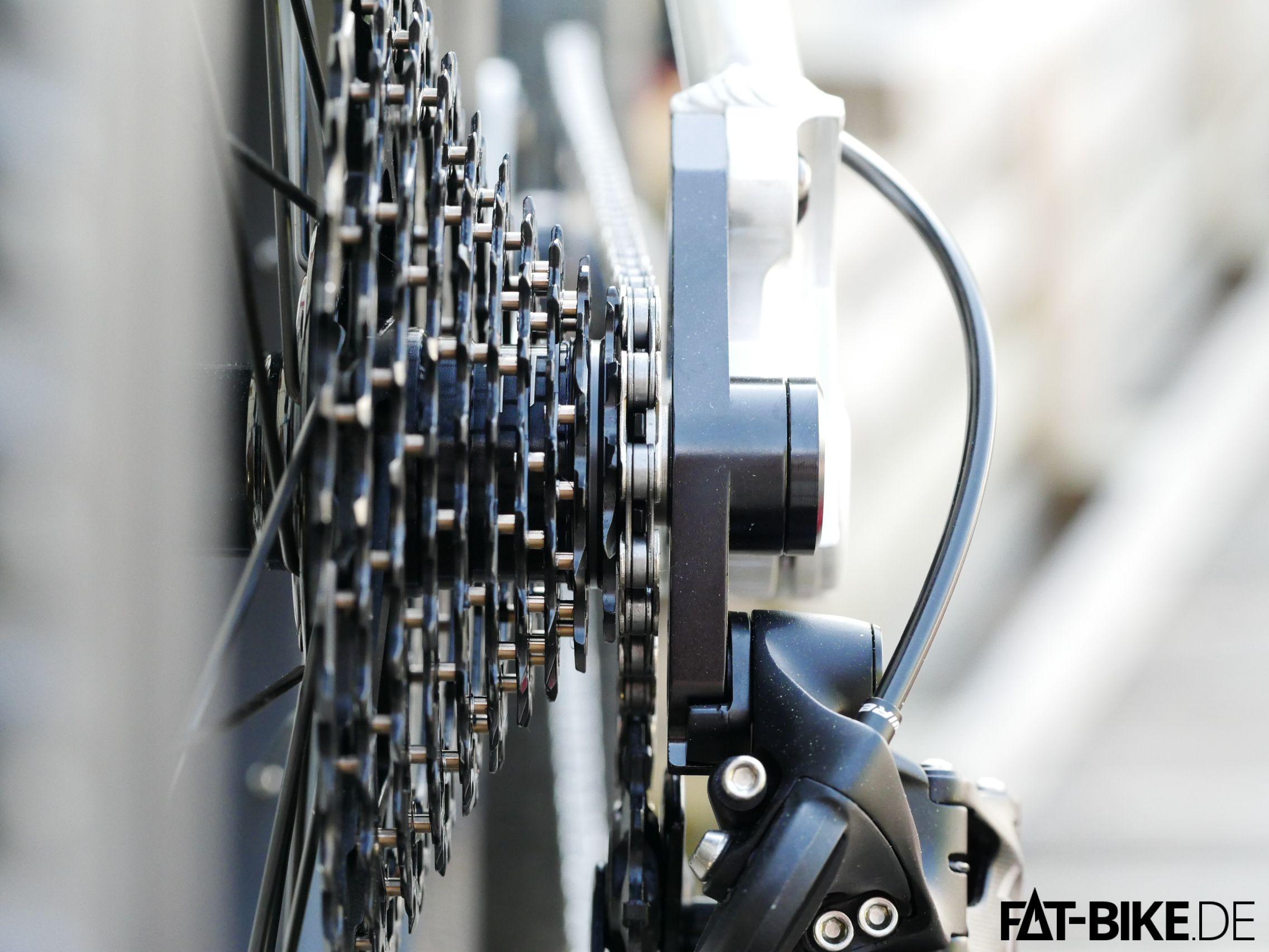 FATBike Montage Schaltung einstellen 2