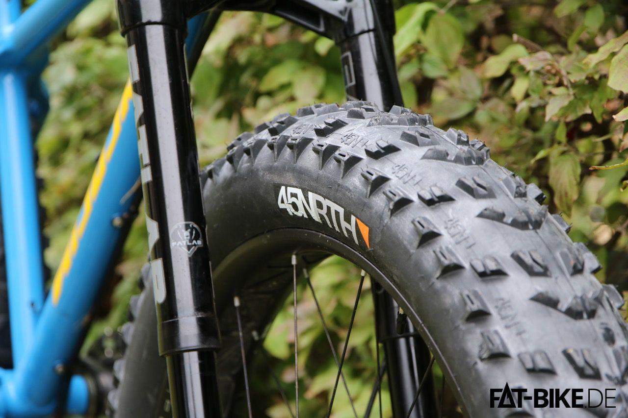 45NRTH Reifen auf dem Nicolai Argon FAT