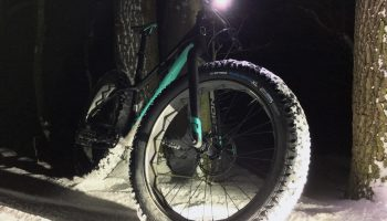 Niteride mit dem Vee Tire Snow Shoe XL