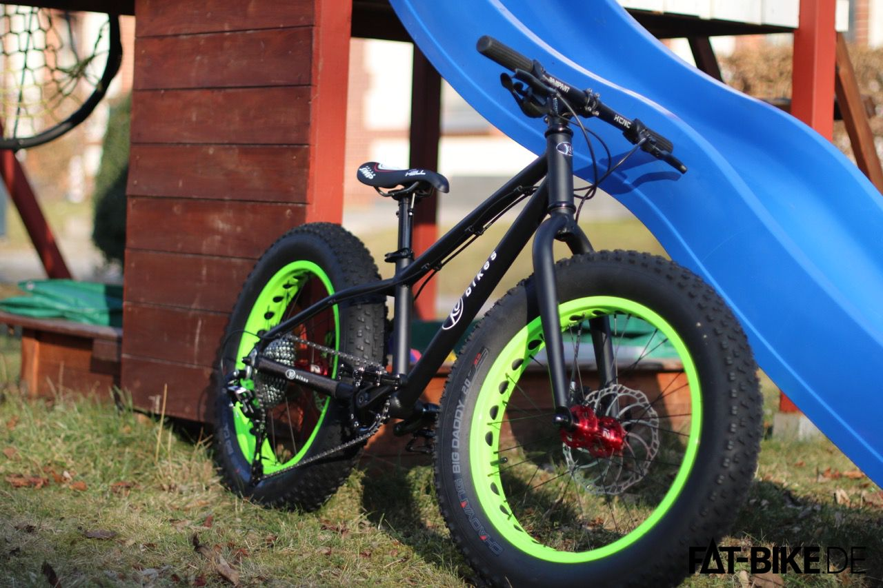 KUbikes 20 FAT superlight mit 10,6kg inkl. Pedale