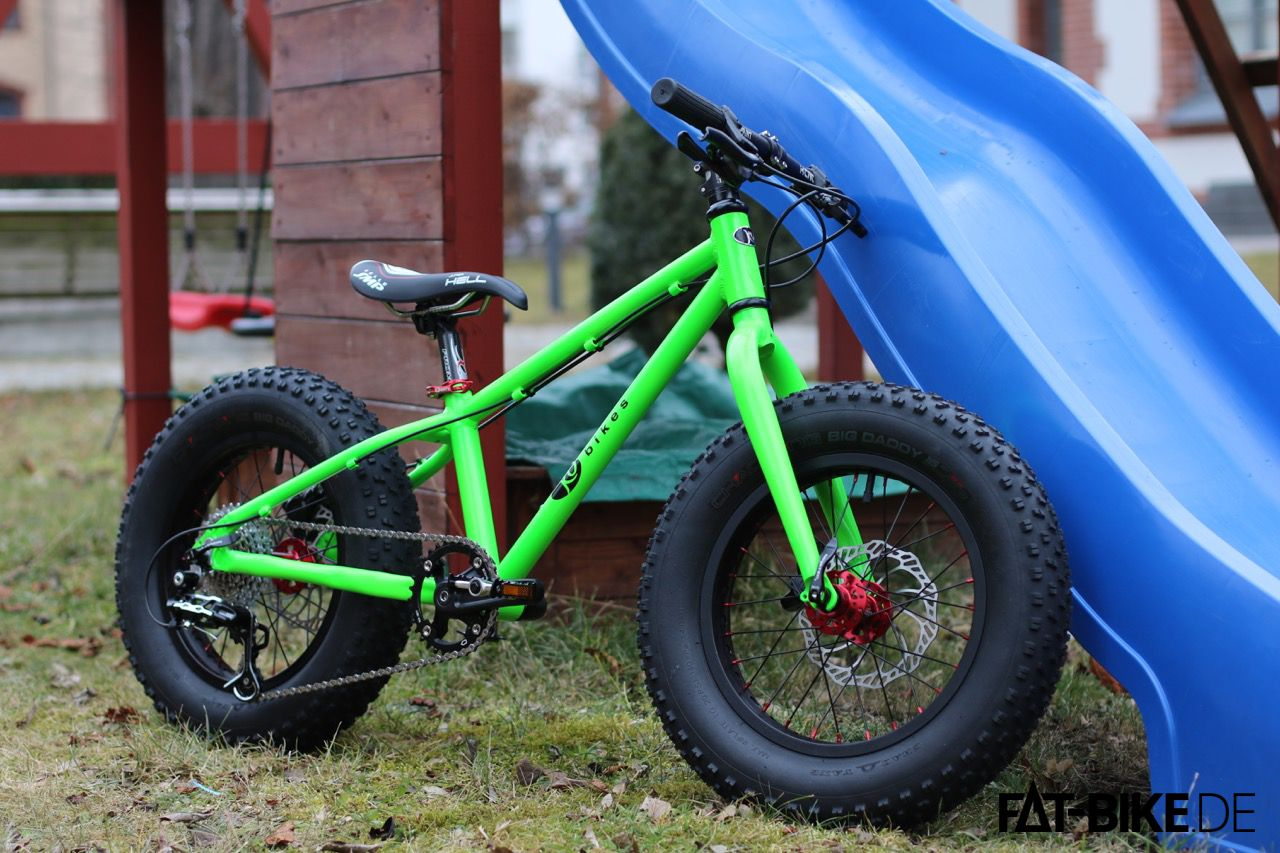 kubikes kids fatbike in 16 und 20 zoll fat. Black Bedroom Furniture Sets. Home Design Ideas