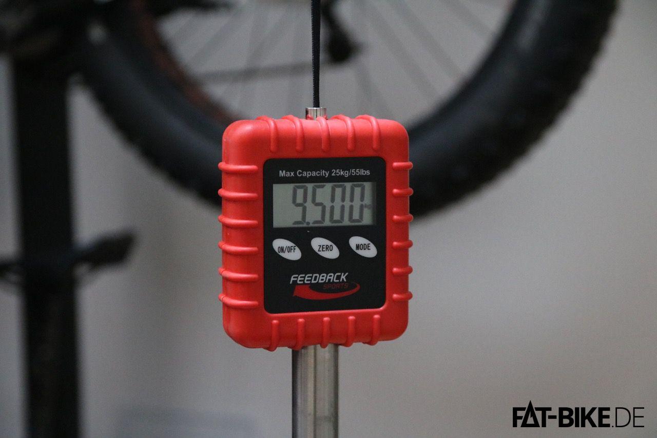 Saubere Leistung von KUbikes, Punktlandung beim 16 Zoll FATBike!