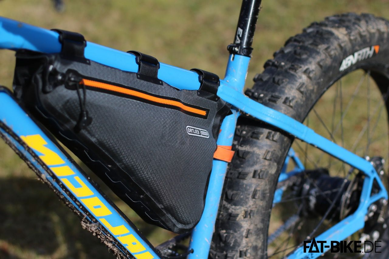 Bikepacking Tasche von Ortlieb: Frame-Pack in Größe M