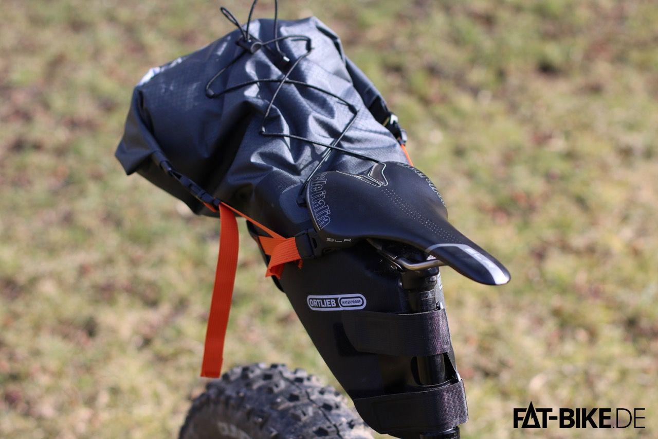Seat-Pack: Die Bikepacking Tasche von Ortlieb für den Sattel