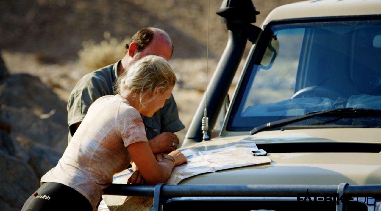 Fitz bei der Einweisung für das Löwenterritorium