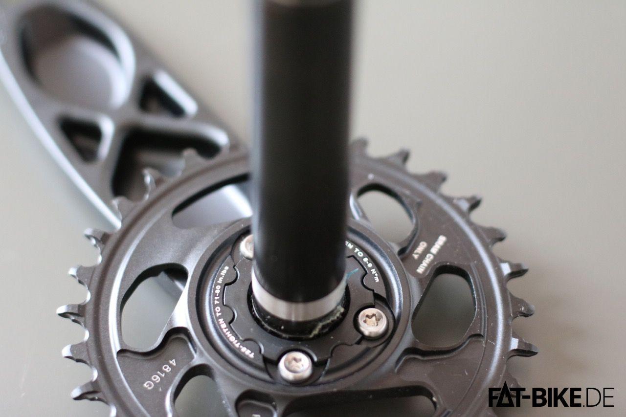 DirectMount für weniger Gewischt und schnellen Kettenblattwechsel an der GX Eagle Kurbel