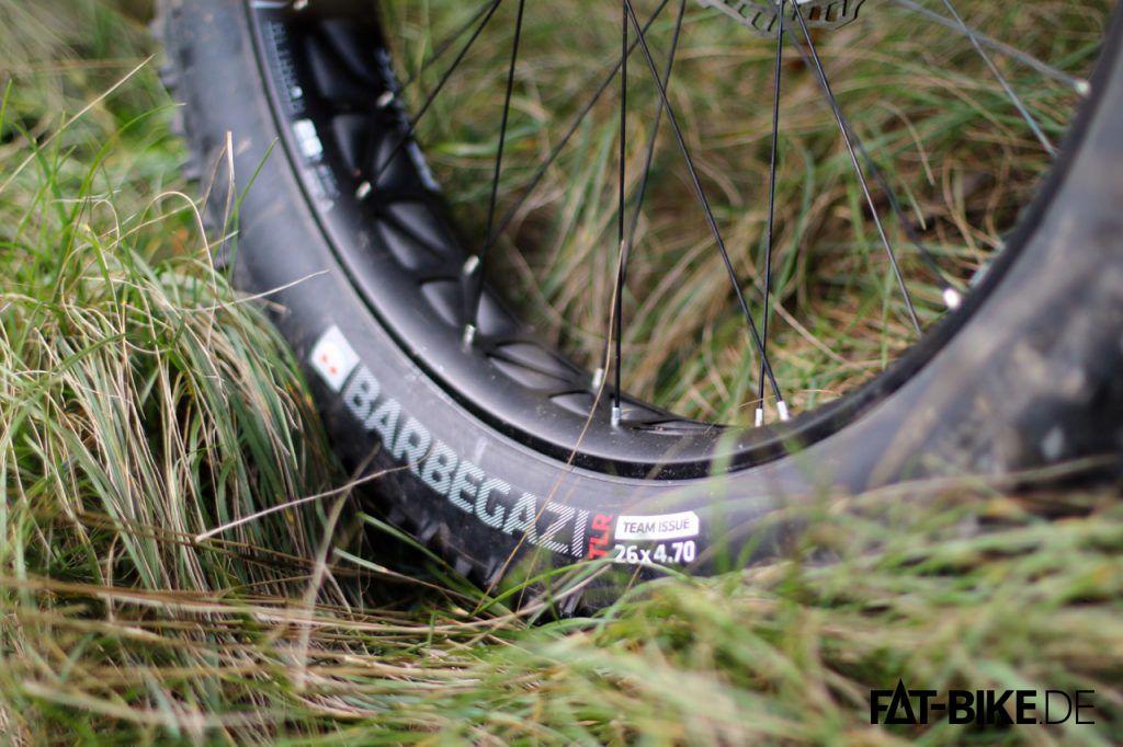 Dickes Bike, dicke Reifen.