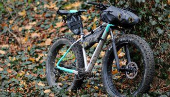 Apidura Bikepacking Taschen am Cube Nutrail